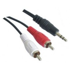 CABLE AUDIO ESTEREO 3.5 M-2RCA/M 0.3M