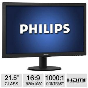 MONITOR PHILIPS 21.5 LED 223V5SLHS - Ver los detalles del producto